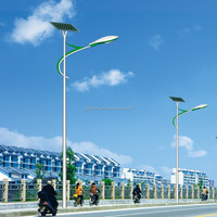 CE ROHS IEC Certificated 60w led Solar Street Light/Solar Street Lamp with hot dip galvanizing and USACREE chips