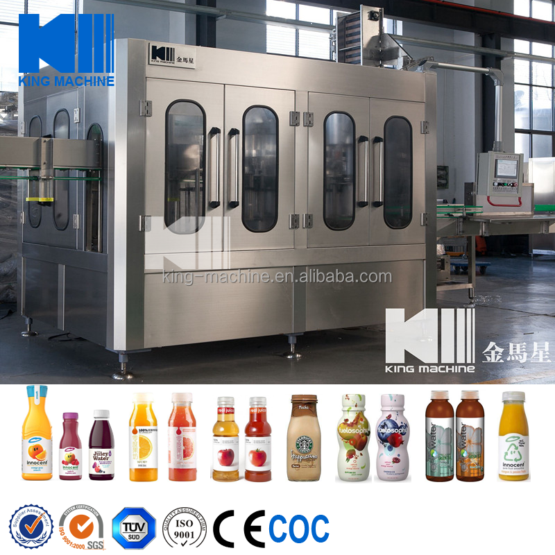 Professional Manufacturing Commercial Water Purification System / Bottle Juice Filling Machines