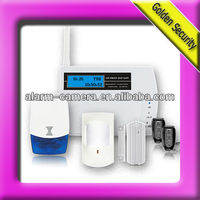 Wireless home alarm security system with panic button for care of elder people