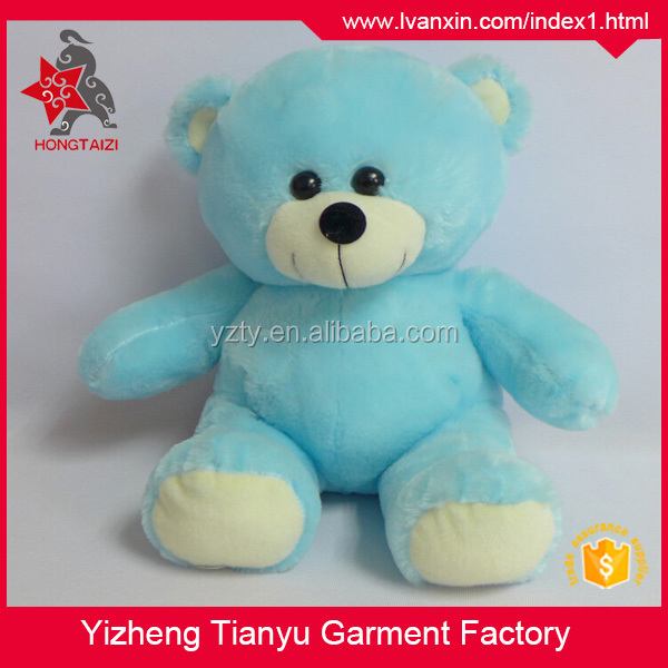 OEM Hot Sale sitting teddy bear plush toy, plush bear 30cm