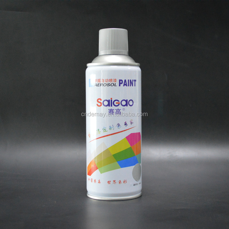High temp heat resistant colorful aerosol spray paint