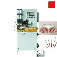 Inserting aluminum and copper tube resistance welding machine for condenser and heatingexchanger