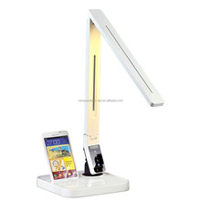 2015 folding dim rechargeable USB charging Led table lamp with eye-caring lighting