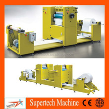 Automatic digital PS plate single color/double color web small card offset label printing machine for sale