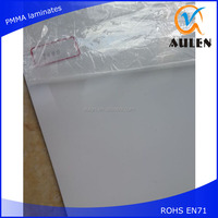 China manufacturer virgin pvc sheet high gloss pvc laminate sheet
