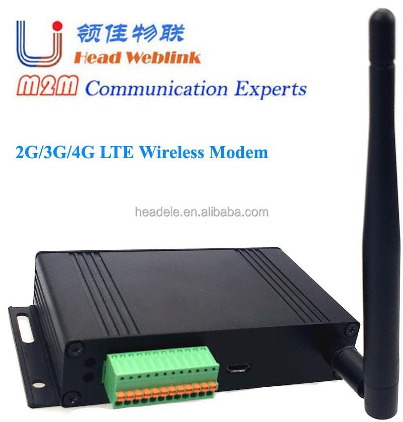 LTE 4G LTE FDD/TDD Industrial modem suport LTE-FDD B2 4 7 17 with sim card slot and watch dog function