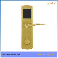 Electronic rfid hotel lock with strong ANSI Mortise