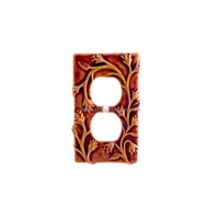 New hot sale New arrival vintage ceramic Switch Plate Cover