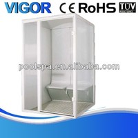 Excellent price one person steam room,computer controlled steam shower room,portable steam sauna room