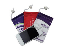 microfiber camera bag/phone bag/MP3/MP4 bag