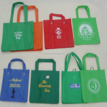 custom printed non woven fabric shopping bags