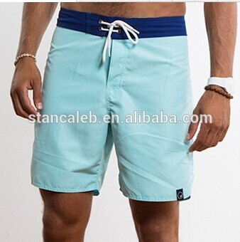 mens sexy nude competitive blue beach short/ beach board shorts