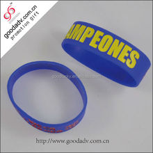Made in china popular gift sample free cheap plain silicone wristbands