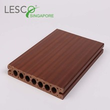 Wpc Hollow Pest Resistant Outdoor Decking wood plastic composite board