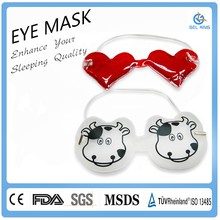 China Supplier Reusable Gel Eye Mask Hot/Cold Compress Pack Heat Ice Cool Relieve Stress Tired