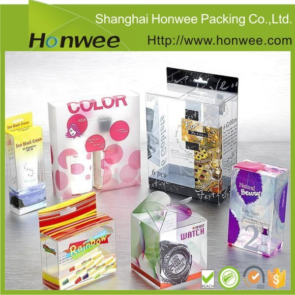 <strong>custom</strong> recycled wholesale gift plastic pvc transparent box