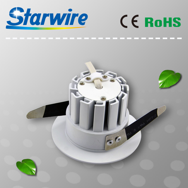 9W Mini led downlight / 60mm 80mm cut out led downlight