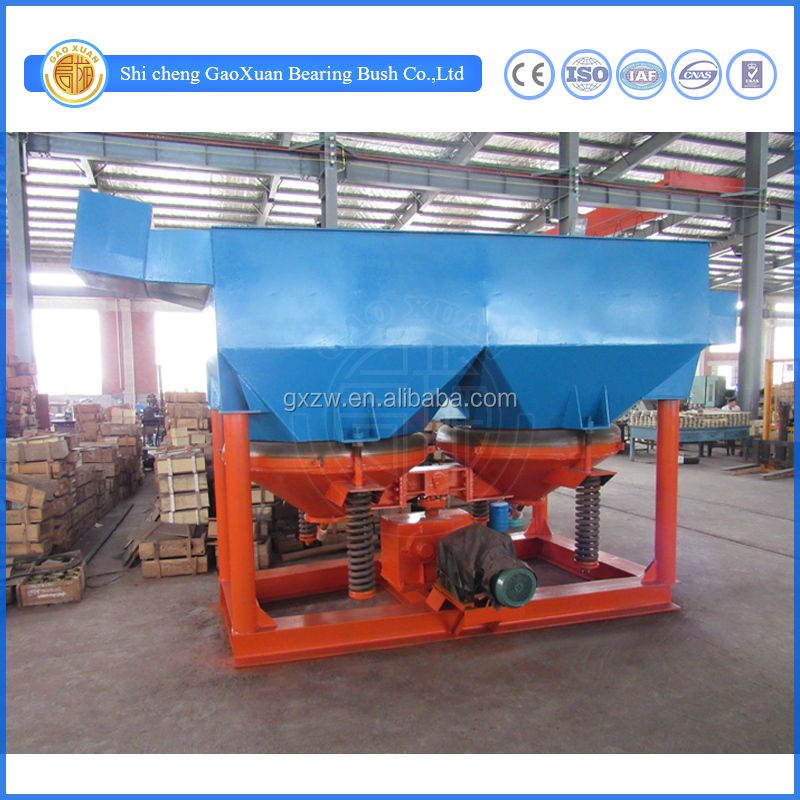 High efficiency Gold jig / Jig machine with 6-20 ton/h big capacity for sale