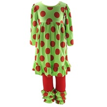 Wholesale Persnickety remake christmas outfit kids clothing supplier China smocked christmas clothing boutique clothing for kids