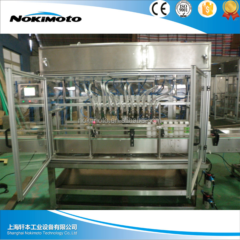 Automatic Pulp Juice Bottling Filling Machine / Plant