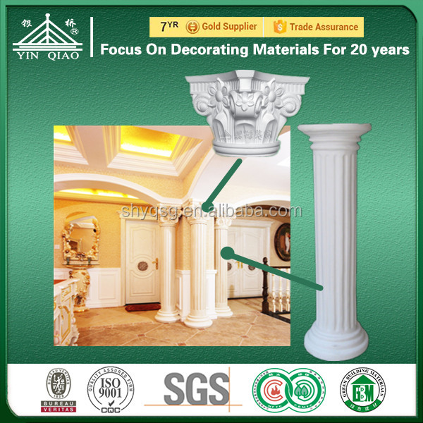 Gypsum GRG GRC Roman Pillar Column Head Capital Moulds Designs