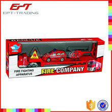 Toy fire extinguisher metal toy fire truck for children