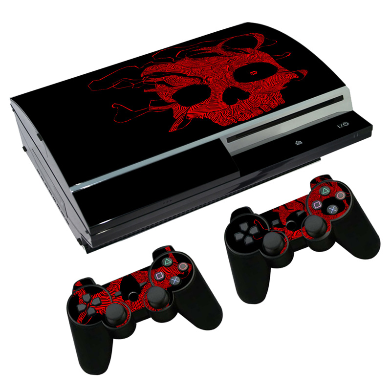 Game accessories vinyl cover skin sticker for PS3 cheapest price decals for ps3 #TN-P3-0511