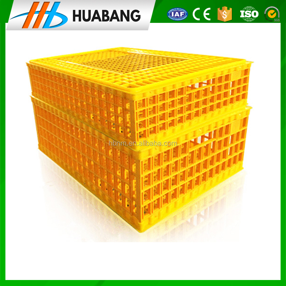 poultry plastic transport cage/crate/box for chicken/duck/bird for sale