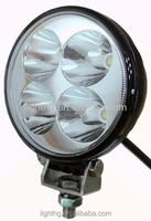 HG-8131 Bright Offroad Vehicles Black Or White 12W LED Work Light