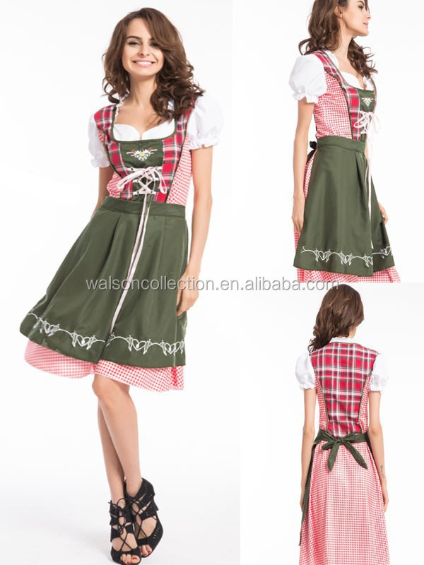 Ladies Beer Maid Costume Wench OktoberfestFancy Dress Costume Sexy xxl Hen Party Adult Halloween Costume