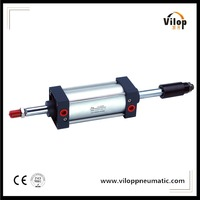 SCJ Series Air cylinder Adjustable Stroke Pneumatic Cylinder/Double Acting Pneumatic Cylinder