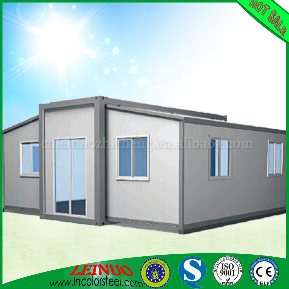 personality Stable structure expandable container house for sale with A1 Fire Resistant social housing Export to thailand