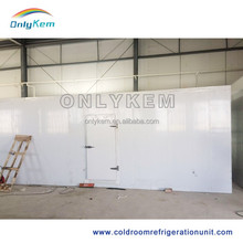 polyurethane foam board mobile cold room for sale