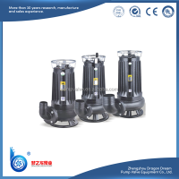 WQK series cutting type electric submersible portable sewage pump