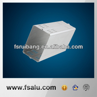 precision milling LED lamp aluminum extrusion frame