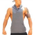 Designer Custom Blank Men Sleeveless Volleyball Jersey Hoodie