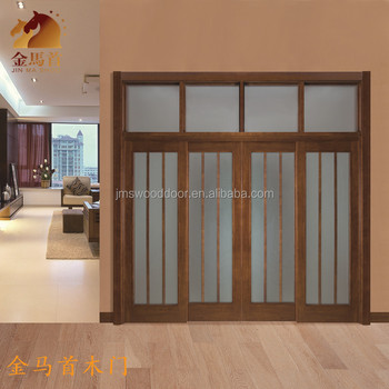 2016 new design sliding solid wood door new products for New door design 2016