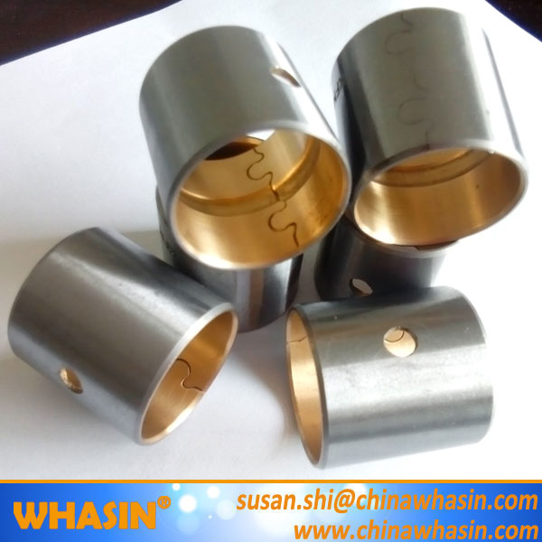 copper and aluminium bimetal plate/bronze alloy bimetal thrust pad/copper metal washer bimetallic bearing bushings