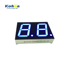 Best seller 1.0 inch 2 digit 7 segment number blue color led alphanumberic display with factory price