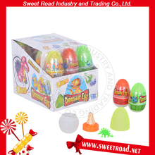 Dinosaur Egg Toy with Nipple Hard candy