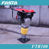 House foundation earth tamping machine, gasoline compactor rammer
