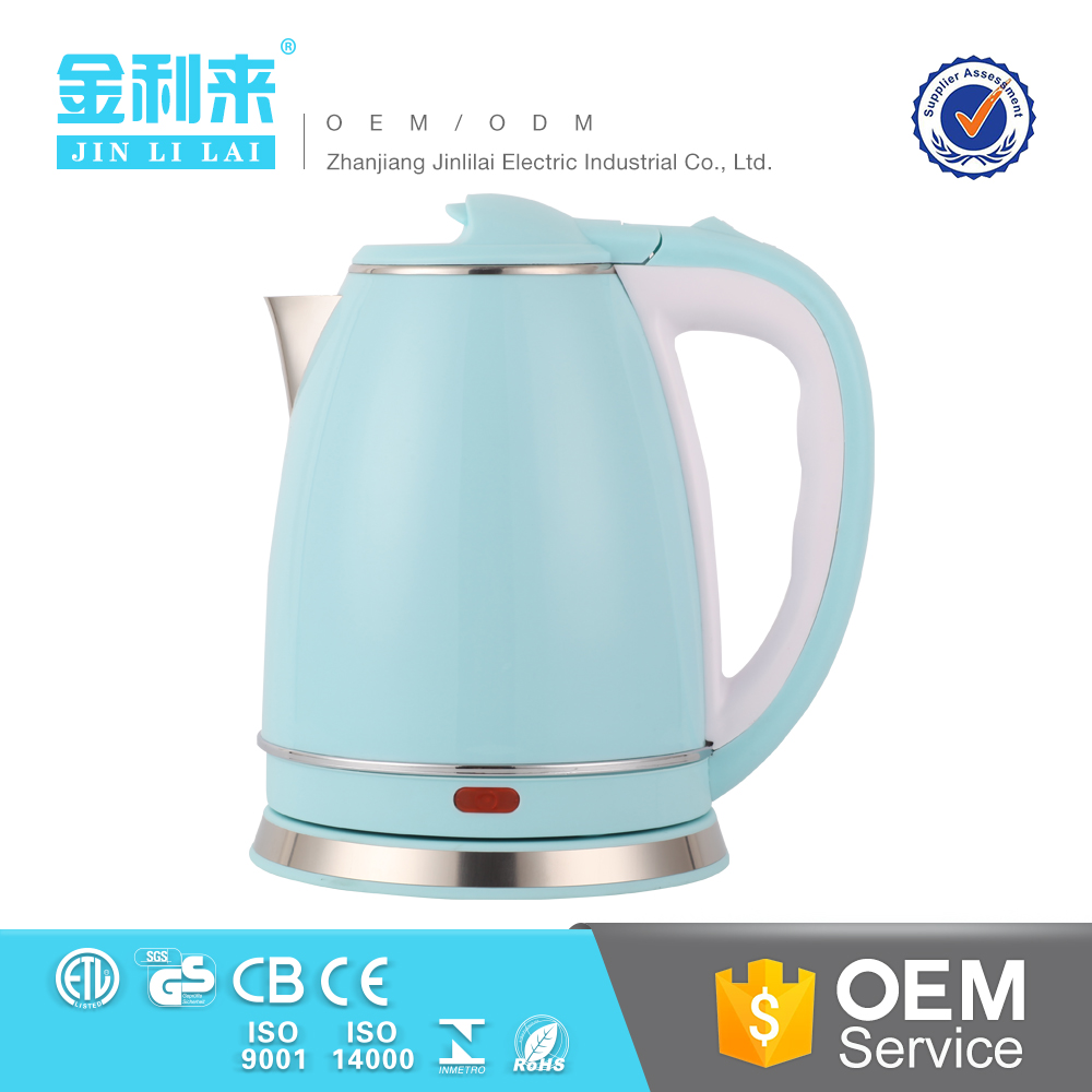 Colorful Kitchen <strong>appliance</strong> 100% boiled water electric kettle cordless kettle