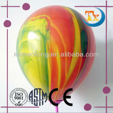 party decoration supplies of rainbow latex balloons