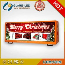 New design ! Magnetic Floating LED display ,led display sign for bus
