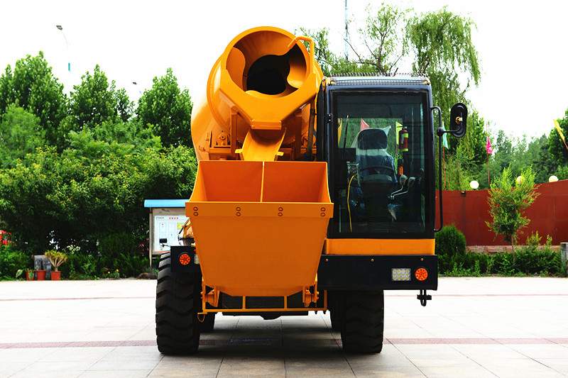 HONORSUN High quality self-loading concrete mixer for sale, concrete mixer spare parts