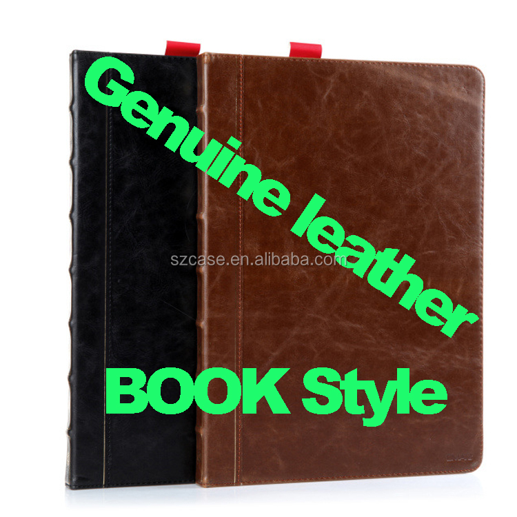 "For Ipad Pro 12.9"" case genuine leather Wallet Stand Smart phone case for ipad pro 12.9"" Book Style"