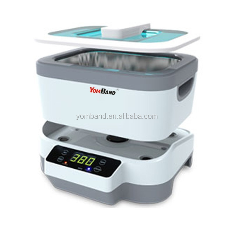 Detachable and Touch Screen Function 1200ml Digital Ultrasonic Cleaner