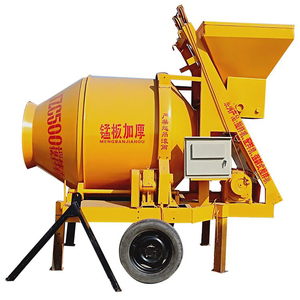 High quality mobile JZC series double cone concrete drum mixer price in the Philippines