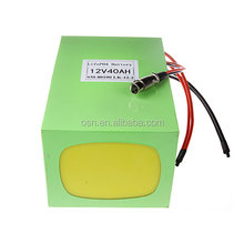Rechargeable 12v 25Ah 40Ah 50Ah Lithium Ion Battery Pack For Electric Bike,Solar,UPS,Car