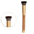 YIRENXIU Makeup Brush,Oak Handle Cosmetic Brush,Flat Top Brush for Makeup